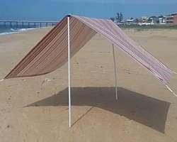 Barraca de praia 4x4