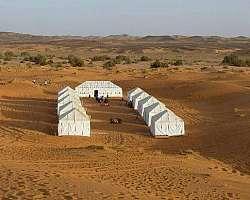 Montagem de tendas para eventos