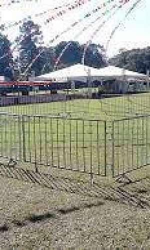 Aluguel de grades para eventos
