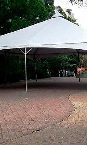 Aluguel de tenda de lona
