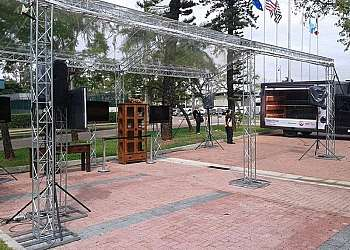 Aluguel de tendas transparentes