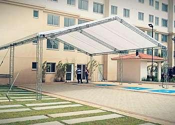 Empresa de aluguel de tendas