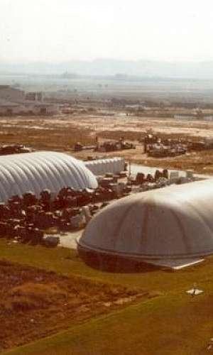 armazém inflável