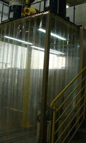 cortina de PVC standard