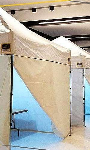 Fabricante de tendas sanfonadas