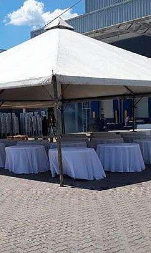 Locação de tendas para festas
